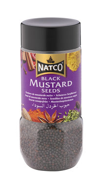 Mustard Seeds Black Jar