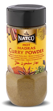 Curry Powder Hot Jar