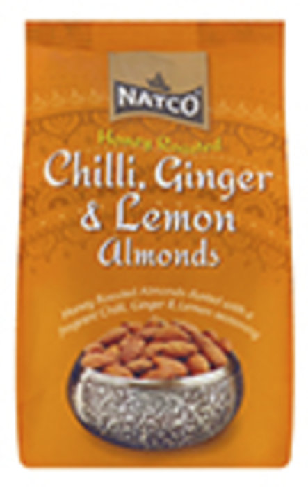 Almonds Roasted Chilli, Ginger & Lemon